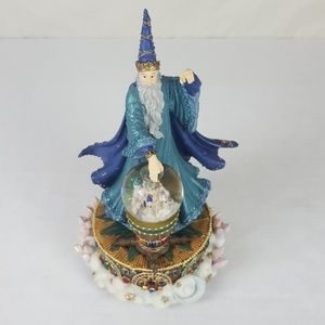 Wizard Merlin Snow Globe Figurine Camelot Musical